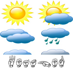 Learning About Weather In Asl Sign On Connect